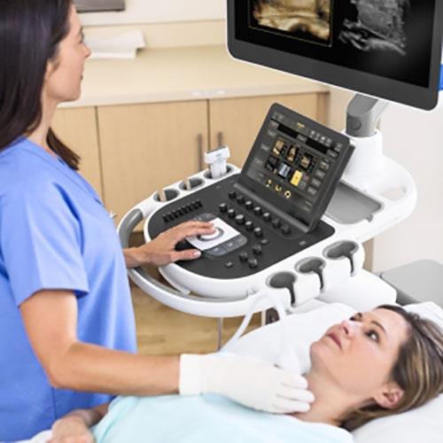 Philips Ecografia EPIQ Elite tiroides min